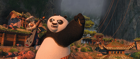 Kung Fu Panda 2 promotional photo