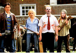 Shaun of the Dead promotional photo
